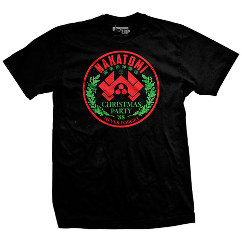 Members Only Nakatomi Christmas Party T-Shirt