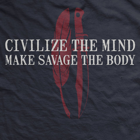 Savage Gentleman Make Savage The Body T-Shirt