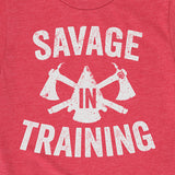 Kid's Savage In Training Tee