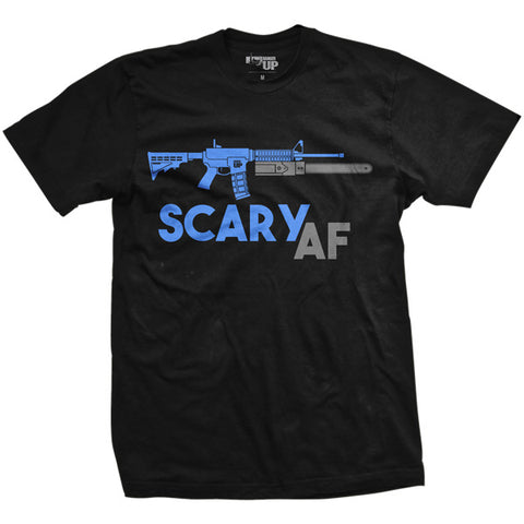 Scary AF Vintage-Fit T-Shirt