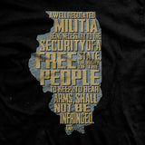 The Illinois 2nd Amendment T-Shirt