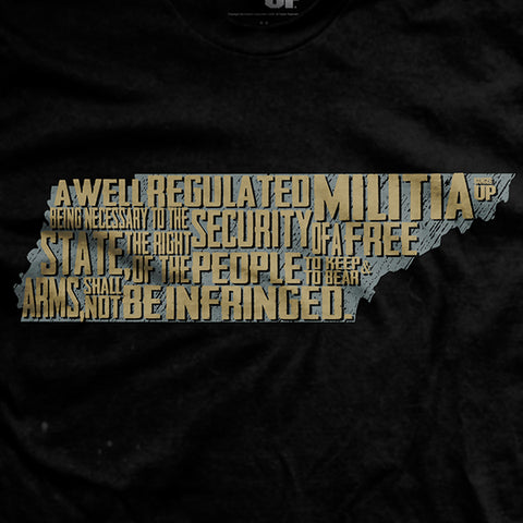 The Tennessee 2nd Amendment T-Shirt