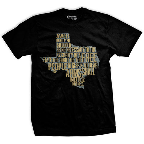 The Texas 2nd Amendment T-Shirt
