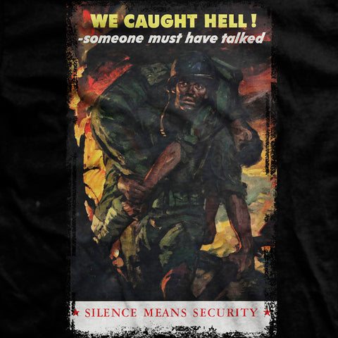 Silence Means Security T-Shirt