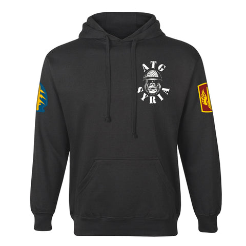Silverbacks 18th FA BDE -- Hoodie, Black