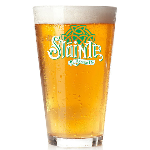 Slainte Pint Glass