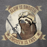 Slow Is Smooth Sloth Hoodie