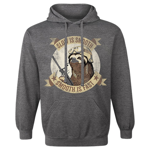 e5f049e2 Slow Is Smooth Sloth Hoodie – Ranger Up