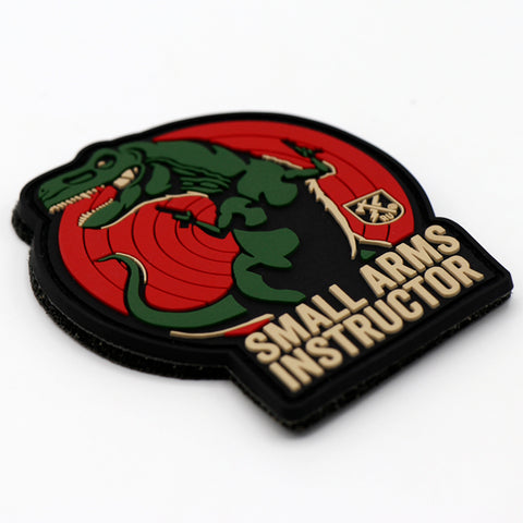 Small Arms Instructor T-Rex PVC Patch