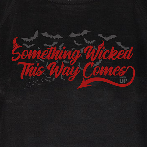 Women's Something Wicked This Way Comes High Neck Tank