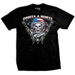 Space Force Death From Orbit Vintage T Shirt