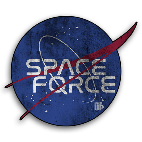Space Force Logo Sticker