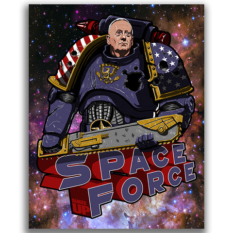 Space Force Mattis Sticker