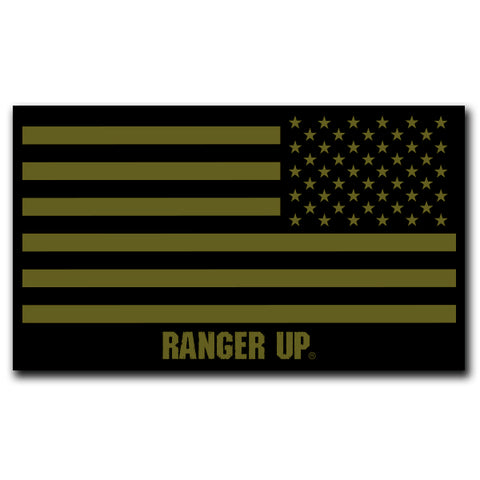 Subdued Flag Decal -- 4.5""