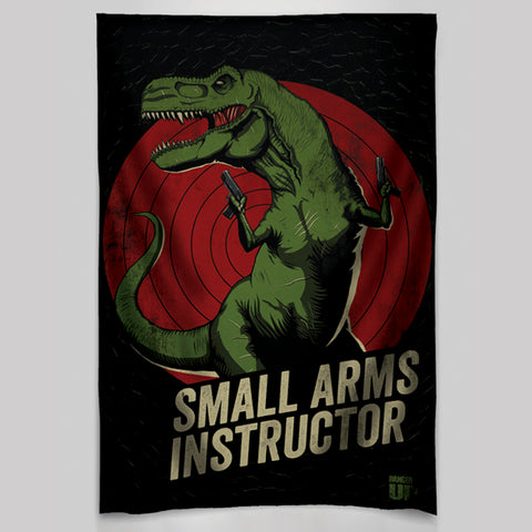 Small Arms Instructor Wall Tapestry