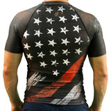 Thin Red Line Flag Rashguard