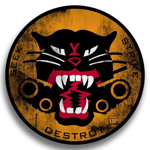 Tank Destroyer Sticker