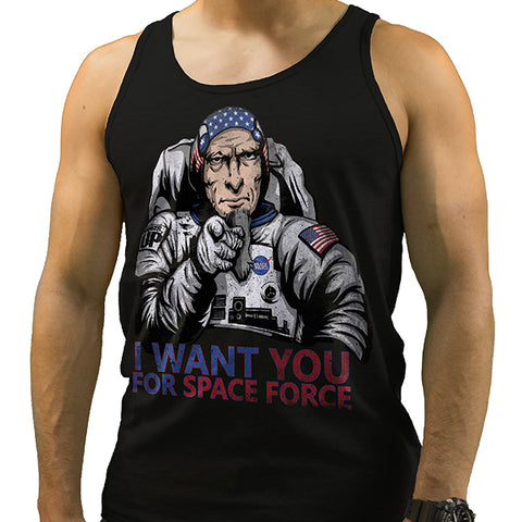 Men's Space Force Uncle Sam Tank
