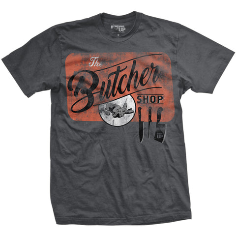 Butcher's Shop Wrestling Vintage T-Shirt