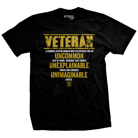 Veteran Explained T-Shirt