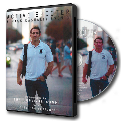 Tim Kennedy Active Shooter DVD