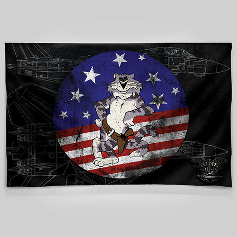 TomCat Patch Wall Tapestry