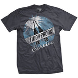 Two Prong Electrical Service Vintage-Fit T-Shirt