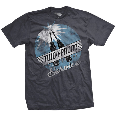 Two Prong Electrical Service T-Shirt