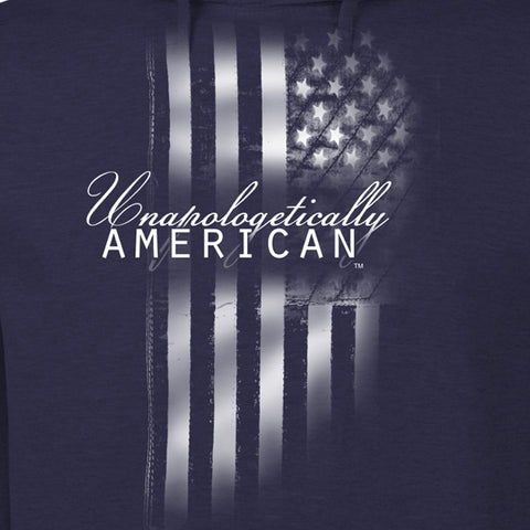 Unapologetically American Flag Hoodie