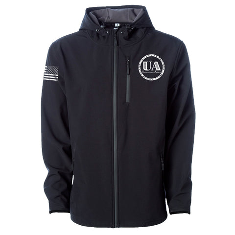 Unapologetically American Soft Shell Performance Jacket