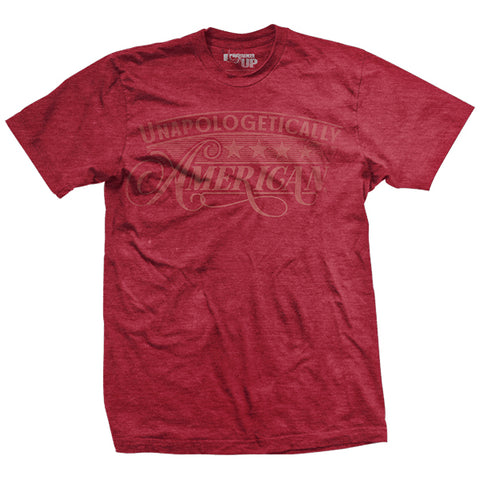 Unapologetically American Washed Out - Red - T-Shirt