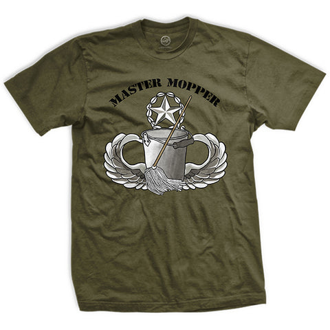 USAWTFM - Mopping Level: Awesome T-Shirt