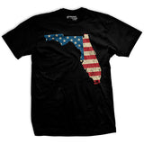 U.S Flag - Florida T-Shirt