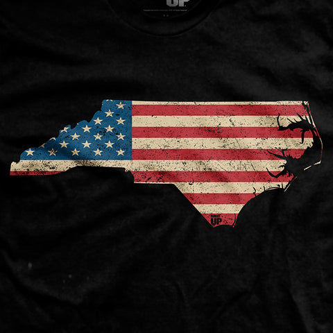 U.S Flag - North Carolina T-Shirt