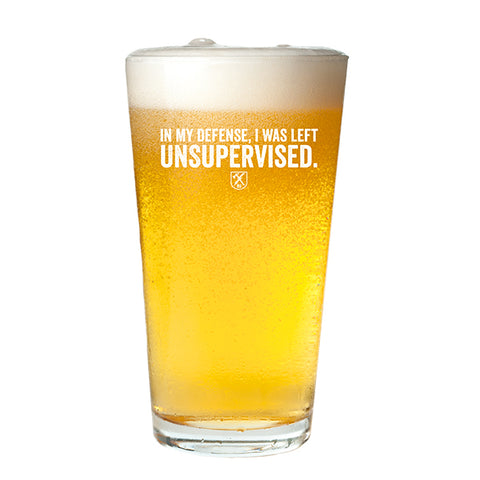 Unsupervised Pint Glass