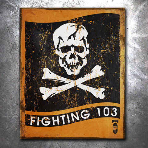 VFA-103 Jolly Rogers Tin Sign