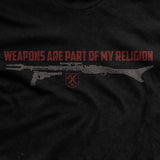 Weapons are my Religion T-Shirt