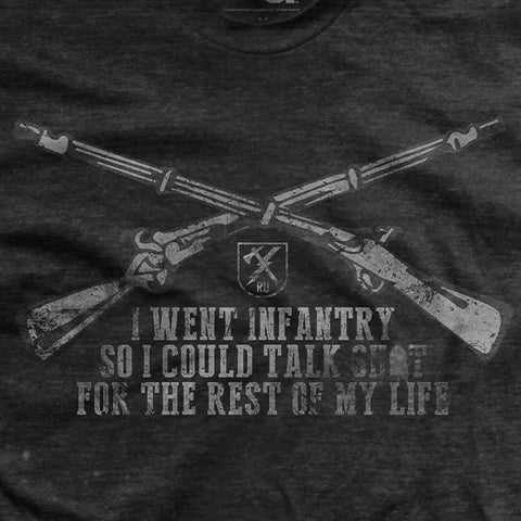 Why I Joined the Infantry T-Shirt