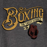 Women's Boxing Sweet Science Racerback Tank