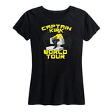 Women's Captain Kirk World Tour Tee