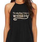Women's I Chase Whiskey High Neck Tank