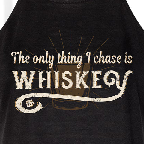 Women's I Chase Whiskey high tank