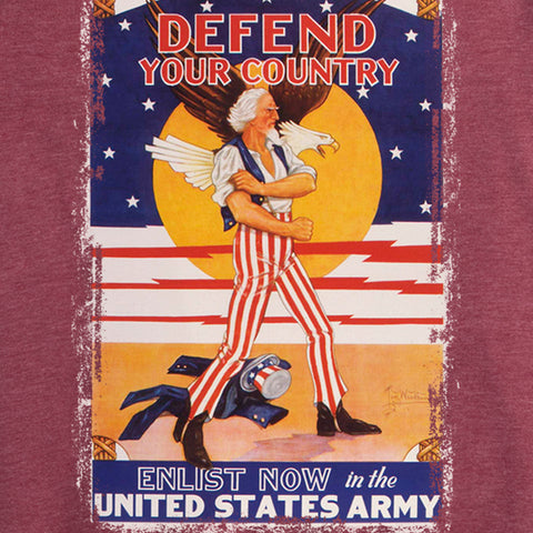 Defend Your Country Women's Tee