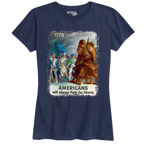 Women's Fight for Liberty Tee