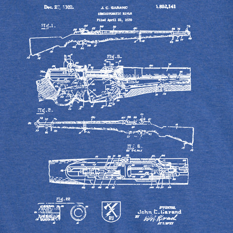 Women's Garand Blueprint Tee