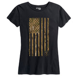 Women's OCP Camo Flag Tee