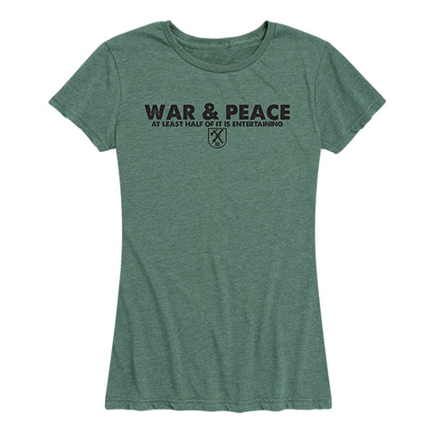 Women's War and Peace Tee