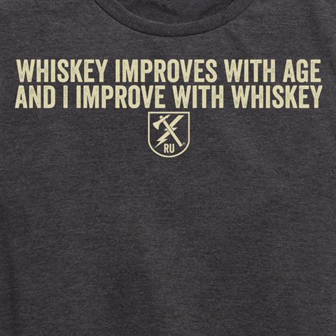 Women's Whiskey Improves Tee