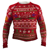 Christmas Sweater Long-Sleeve Rash Guard