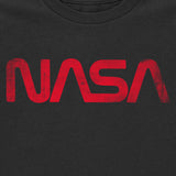 "Kid's NASA ""Worm"" T-Shirt (Black)"